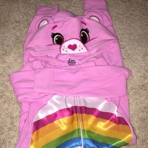 Girls Onsie Zip Care Bear Costume